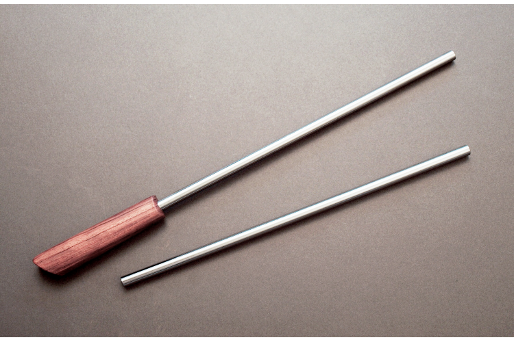 12 inch Smooth Sharping Steel Kit - Hock Tools