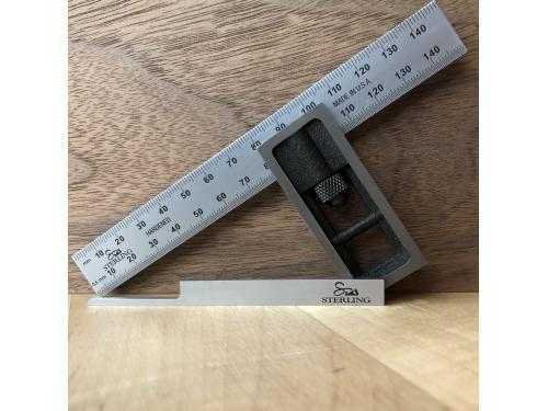 Sterling 150mm Dovetail Square Set
