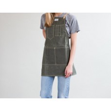 Apron Waxed Cotton / Cotton Strap Small