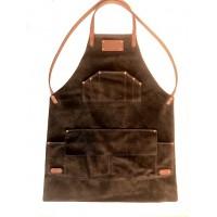 Apron Lie-Nielsen Australian Brown Leather ver 2