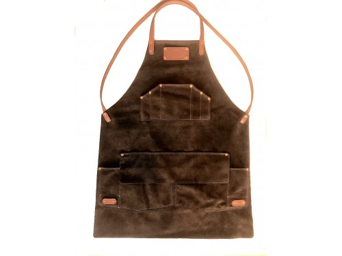 Apron Lie-Nielsen Australian Brown Leather ver 2