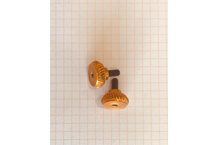Spare Knew Concept Knurled Knobs