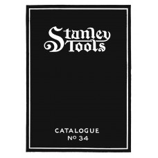 Stanley Tools Catalogue No. 34