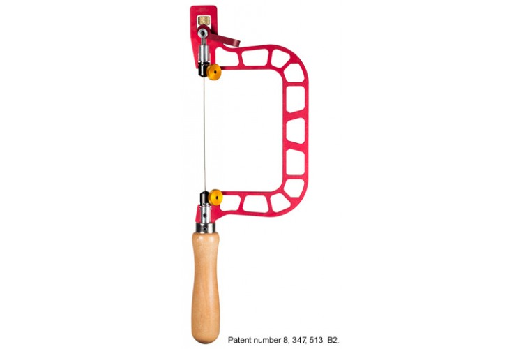 """Knew Concept 3"""" Fret Saw with Lever Tension and Swivel Blade."""