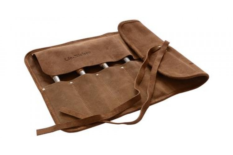 Leather Tool Roll 7 Pocket